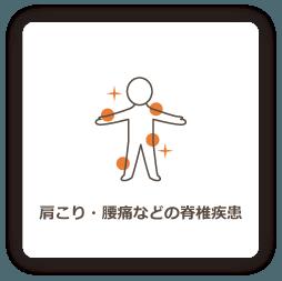 肩こり・腰痛などの脊椎疾患